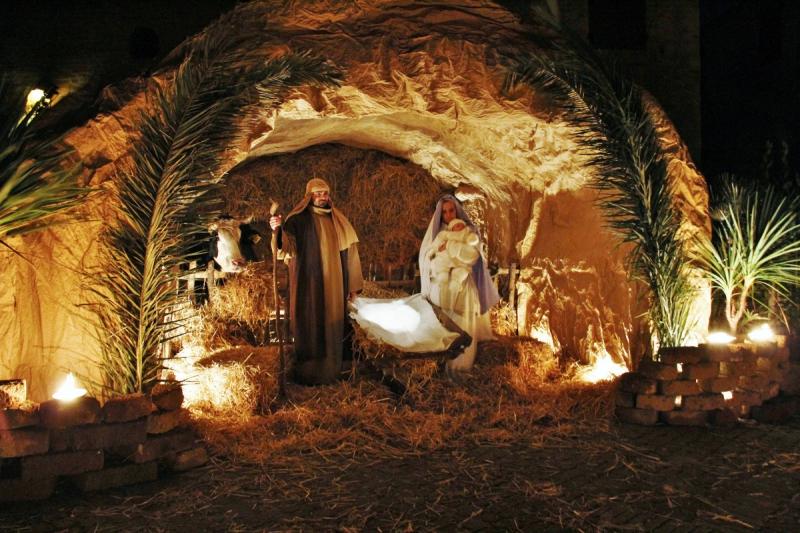 altidona presepe vivente grotta