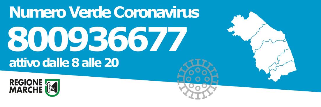 Coronavirus - Numero verde