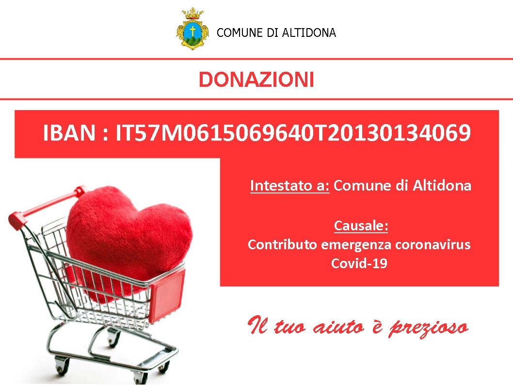 IBAN Donazione